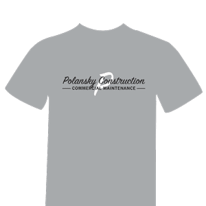 T-shirts and Sweatshirts for Polansky Construction