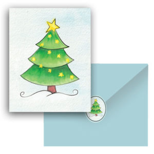 "Creating Christmas ""Stickers"""