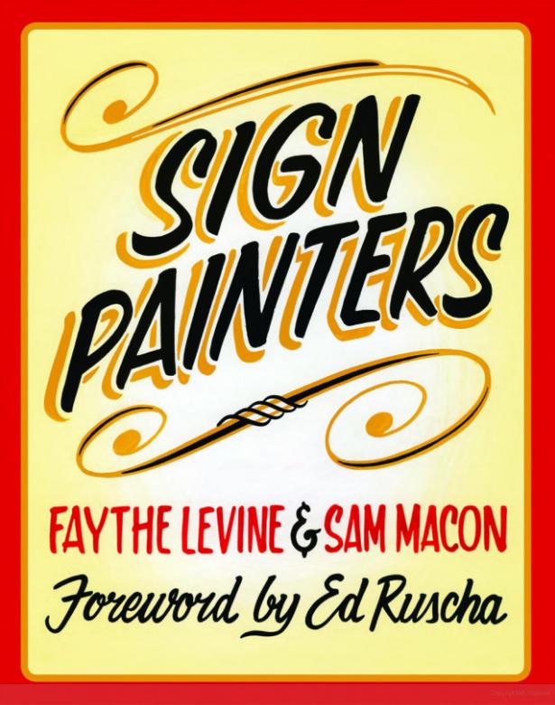 sign painters faythe levine sam macon