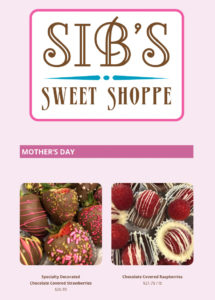 sib's sweet shoppe mother's day