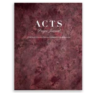New ACTS Prayer Journal Designs