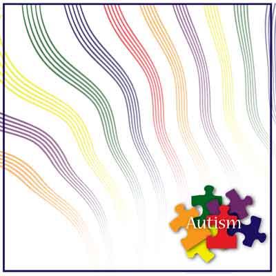 Autism Scrapbook Paper
