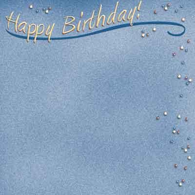 happy birthday confetti scrapbook paper